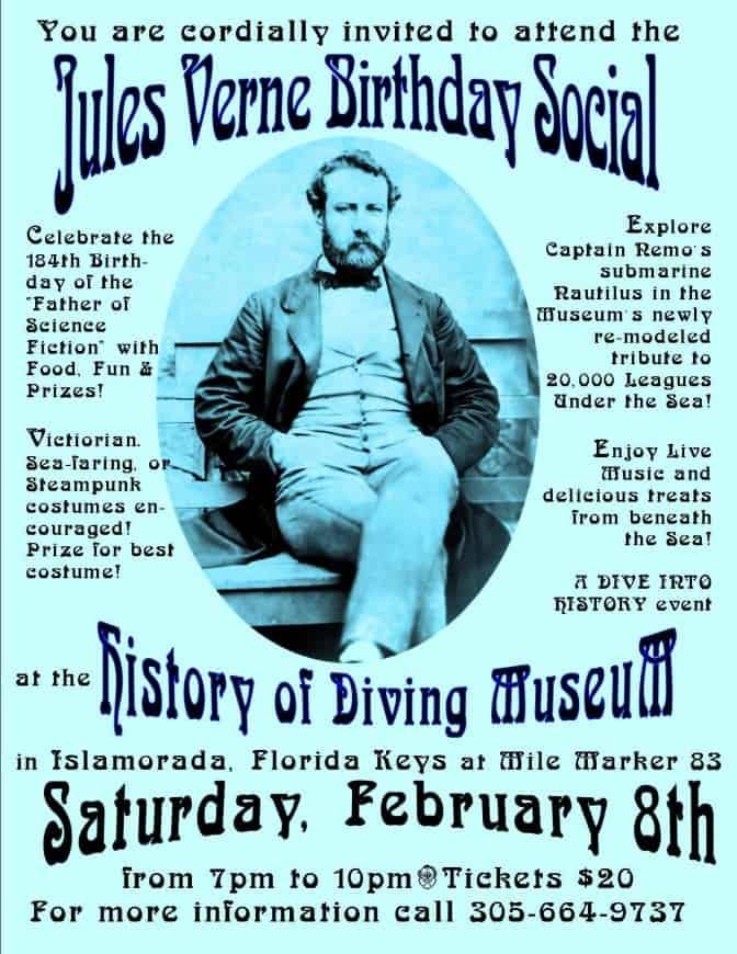 Jules Verne Birthday Social