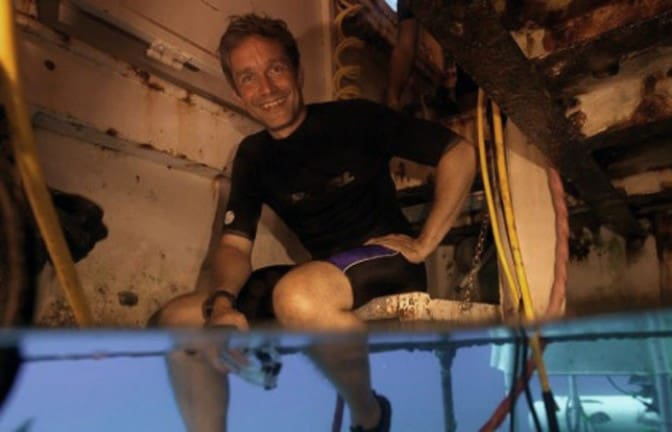 Cousteau dives the keys