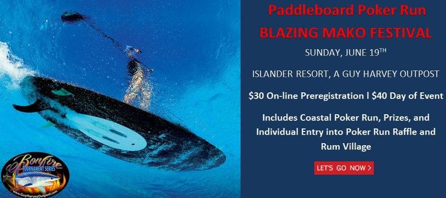 Paddlle board poker run ad for blog