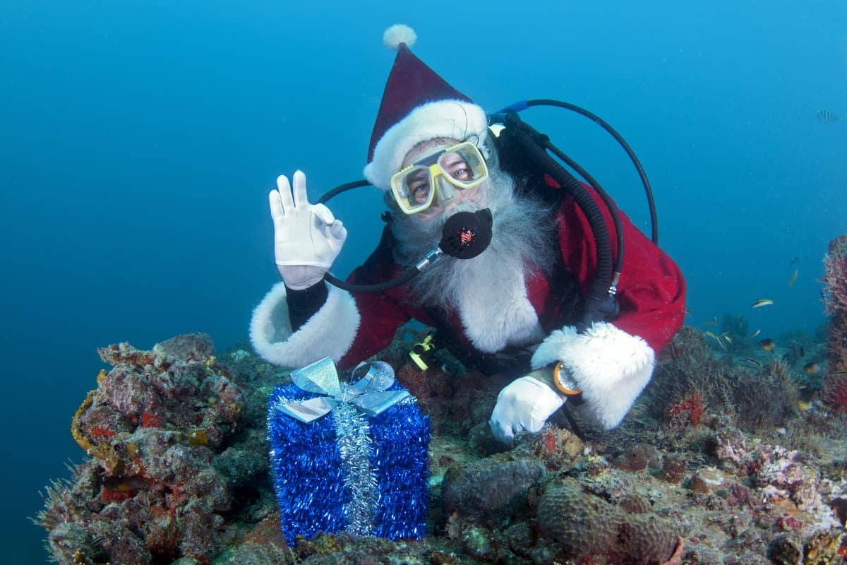 Diving With Santa Claus