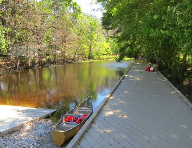 Arbuckle Creek Launch