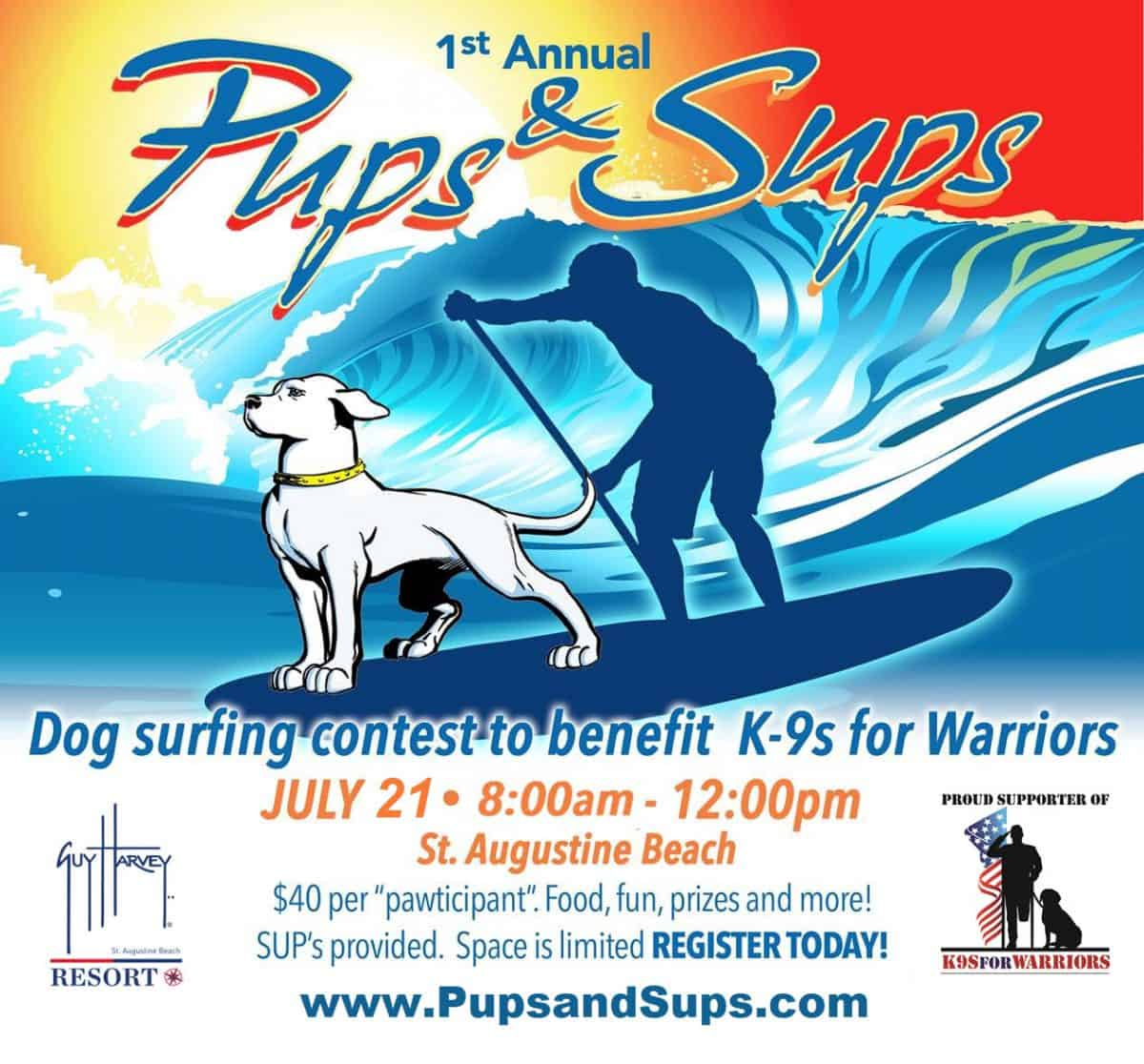 1st Annual Pups & Sups