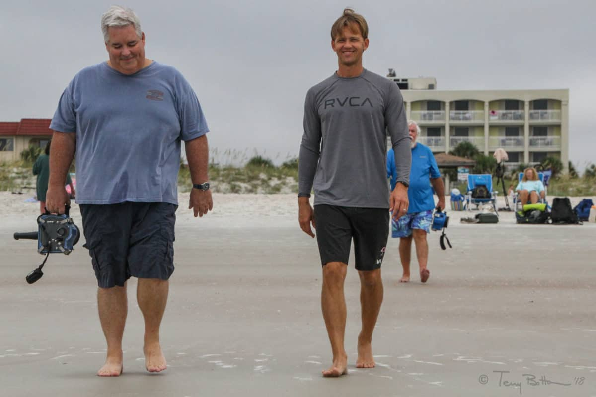 Goofy Foot Sur furs Hit ST Augustine Beach