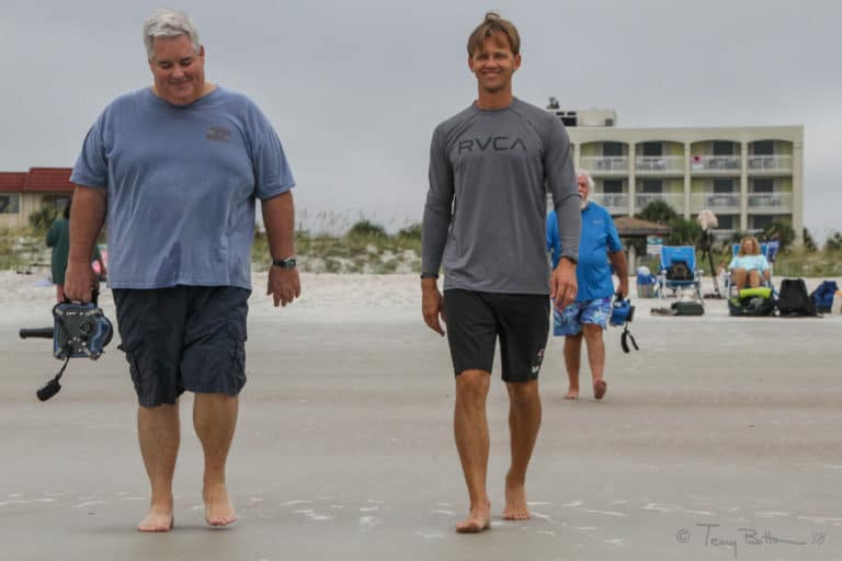 Goofy Foot Sur furs Hit ST Augustine Beach