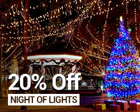 20% off Nights of Lights